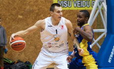 'Ventspils' basketbolisti gadu noslēdz ar uzvaru pār 'Jēkabpils' komandu