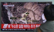 ASV un Krievija sola Ziemeļkorejas kodolizmēģinājuma lietu nodot ANO