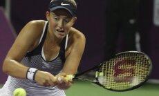 Ostapenko zaudē horvātietei Konjuhai Sanantonio 'WTA 125' sērijas turnīra pirmajā kārtā