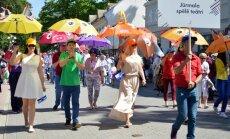 Foto: Jūrmalā lustīgi un priecīgi nosvin Kūrorta svētkus