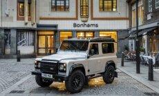 Divmiljonais 'Land Rover Defender' izsolē pārdots par pusmiljonu eiro
