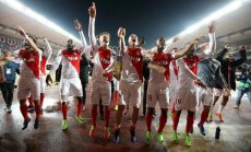'Monaco' iekļūst UEFA Čempionu līgas ceturtdaļfinālā; Madrides 'Atletico' uzvar Leverkūzenes 'Bayer'