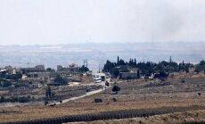 Izraēlas armija no Sīrijas evakuē 800 'Balto ķiveru' dalībniekus
