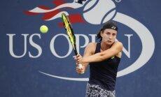 US Open: Севастова одержала сотую победу, Гулбис проиграл в день рождения