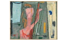 100 dārgumu mākslas muzejā: Leonīda Āriņa 'Mākslinieka darbnīca Nr.2'