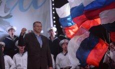Krievijas parlamenta augšpalāta ratificē līgumu par Krimas aneksiju