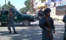 Kabulā netālu no augstas amatpersonas rezidences spridzinātājs pašnāvnieks nogalina 24 cilvēkus