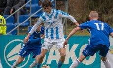 'Riga' futbolisti ar uzvaru pār 'Daugavpili' sasniedz Latvijas kausa pusfinālu