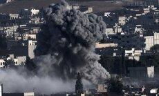 Kurdu karotāji atsituši vairākus uzbrukumus Kobanes pilsētai