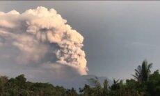 Video: Kā Agunga vulkāns piedūmo indonēziešu Bali