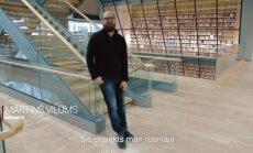 Ezotēriskās, mistiskās dainas. Komponists Mārtiņš Viļums par simtgades uzvedumu 'Gaismas raksti'