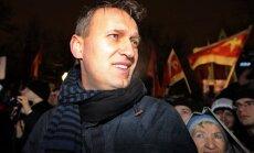 Protestu kustības līderis Navaļnijs pieprasa rīkot Maskavas mēra vēlēšanu otro kārtu