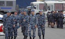 Maskavā par kaušanos aiztur 79 Kirgīzijas un Uzbekistānas pilsoņus