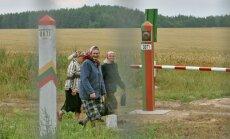Lietuva pabeigusi demarķēt robežu ar Krieviju
