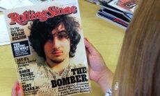 Bostonas spridzinātājs uz žurnāla 'Rolling Stone' vāka izraisa kņadu