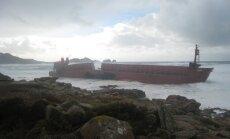 'Gjensidige' izmaksā 850 000 dolāru lielu apdrošināšanas atlīdzību par bojā gājušu kuģi