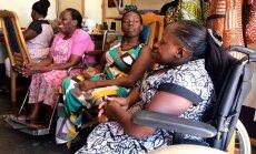 'Delfi' Ugandā: Pašdarinātas somas, virtuves dvielīši, priekšauti ceļo uz Baltiju
