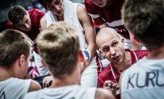 Latvijas U–18 basketbolistu treneris Visockis-Rubenis: Mēs uz priekšu ejam soli pa solim