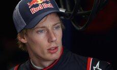 F-1 debitantam Hārtlijam ASV 'Grand Prix' piespriež 30 starta vietu sodu