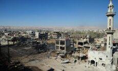 Sīrijā teritorijās, kurās uzlidojumus veic Krievija, sagrautas arī vairākas slimnīcas