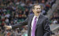 Porziņģa 'Knicks' atbrīvo galveno treneri Hornačeku