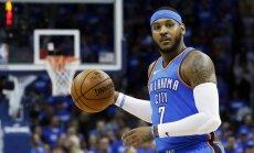 'Thunder' aizmaina Entoniju un 'Hawks'; basketbolists kļūs par brīvo aģentu