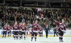 Rīgas 'Dinamo' hokejisti 'Latvijas Dzelzceļa' kausu noslēdz ar uzvaru un trešo vietu