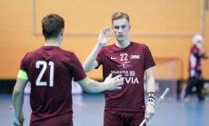 Latvijas florbolistu pretinieki PČ grupu turnīrā būs Šveices, Čehijas un Vācijas izlases
