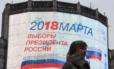 Maskava lūdz Lietuvai vairāk vietu, kurās varēs balsot Krievijas prezidenta vēlēšanās