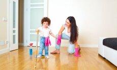 Kā bērnu pieradināt pie kārtības uzturēšanas savā istabā