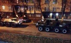 Video: Čečenijas galvaspilsētā apšaudē ar kaujiniekiem nogalināti trīs policisti; iesaistīta bruņutehnika