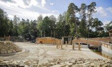 """ФОТО. В Рижском зоопарке завершено строительство """"Африканской саванны"""""""