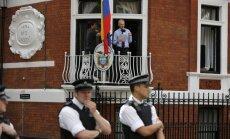 Asanžs arī turpmāk turpinās dzīvot Ekvadoras vēstniecībā Londonā