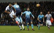 West Brom Salomon Rondon scores Swansea
