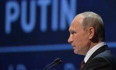 Putins: nav pamata runāt par ogļūdeņražu ēras norietu