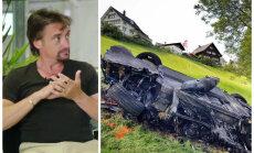Hamonds un autoražotājs beidzot detalizēti komentē notikušo avāriju