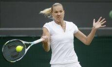 Igaunijas tenisistei Kanepi zaudējums Vimbldonas ceturtdaļfinālā