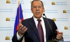 Лавров: есть план расширить режим деэскалации на всю территорию Сирии