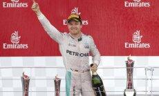 Rosbergs pārtrauc neveiksmju sēriju un uzvar pirmajās sacensībās Baku trasē