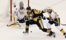 'Penguins' hokejisti trešā perioda sākumā 'uzliesmo' un izcīna otro uzvaru Stenlija kausa finālā