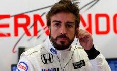 Alonso cer atgriezties sacensībās nedēļas nogalē gaidāmajā Ķīnas 'Grand Prix'
