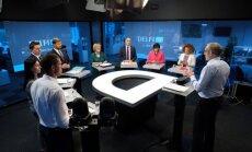 В студии Delfi TV кандидаты в депутаты говорили о социальной защите и демографии