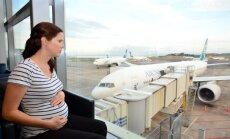 Kas jāzina grūtniecēm un jaunajām māmiņām par lidošanu un ceļošanu ar jaundzimušajiem