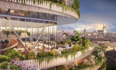 Foto: Augu pārbagātība it visur – neparasta vīzija par nākotnes māju