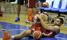 Latvijas otrā basketbola izlase arī atkārtotajā pārbaudes spēlē zaudē spēcīgajai Tunisijai
