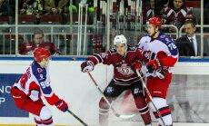 Rīgas 'Dinamo' cienīgā spēlē piedzīvo 'sauso' zaudējumu Maskavas CSKA