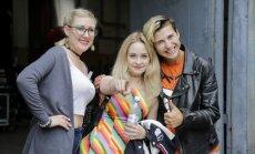 Foto: Kaislības šova 'X Faktors' otrās TV atlases filmēšanā