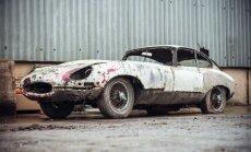 Foto: Viscaur izrūsējis 'Jaguar E-Type' par 50 tūkstošiem eiro