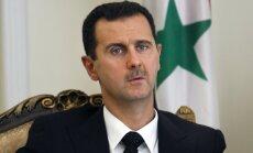 Sīrija ir spējīga atvairīt jebkādu uzbrukumu, apgalvo Asads