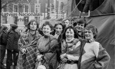 Arhīva foto: Kā Teātra dienu svinēja 80. gados